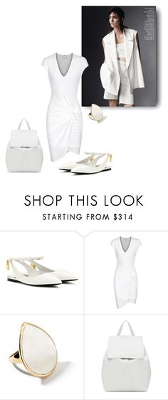 """pure white"" by sensual-spirit on Polyvore featuring Tom Ford, Helmut Lang, Ippolita and Mansur Gavriel"