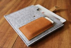 ipad case, Felt ipad air sleeve, unique ipad 2 covers - 100% Natural wool felt -for  ipad 1-4 air sleeve Nexus Kindle sleeve MA018 on Etsy, $19.90