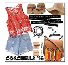 """Hot Coachella Style"" by merima-balukovic ❤ liked on Polyvore featuring Chloé, Bobbi Brown Cosmetics and bestofcoachella"