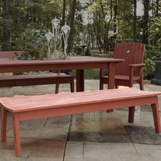 Darby Home Co Milford Pine Picnic Bench Finish: Apple Green Wash