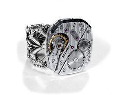 men's steampunk ring
