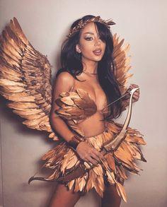 Hot Halloween Costumes, Trendy Halloween, Halloween Inspo, Halloween Looks, Cute Costumes, Halloween Outfits, Costumes For Women, Angel Costume Women, Medusa Halloween Costume