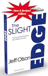 "Reading this book AGAIN, so many valuable life lessons.  Are you aware of the ""Slight Edge""...it's always working ~ for you or against you."