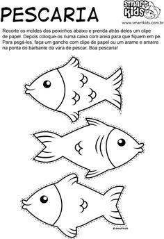 Atividade Festa Junina Pescaria Moldes