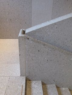 Image result for chipperfield terrazzo handrail