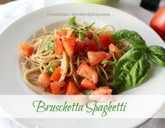 Sounds great!  Bruschetta Spaghetti, Raw Sauce
