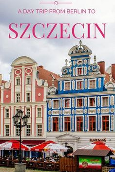 Szczecin: A Cross Border Polish Day Trip from Berlin, Germany European Vacation, European Destination, European Travel, Poland Travel, Germany Travel, Danzig, Germany Poland, Berlin Germany, Cool Places To Visit