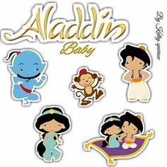 Aladdin Cake, Aladdin Party, Toy Story Cake Toppers, Toy Story Cakes, Jasmine Cake, Aladdin And Jasmine, Ballerina Birthday, Aesthetic Stickers, Princesas Disney