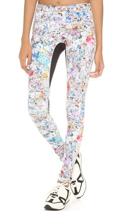 Lucas Hugh Prism Print Leggings ...super fun but ridiculously priced for running tights.