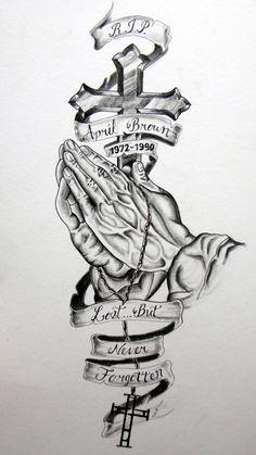 rip tattoo, custom