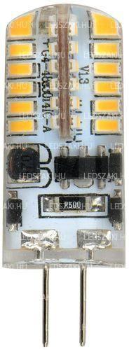 LEDszaki - Szekrénybe, kisméretű lámpába való G4 led 12V, 2W fogyasztással, 180 Lumen fényerő, melegfehér színnel, 360° világítási szöggel, 3 év garanciával a LEDszakitól!
