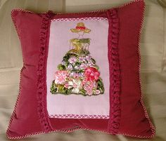 (5) Gallery.ru / Декоративная подушка для девочки - Подушка -подружка - oltatjana