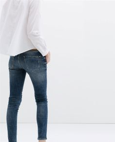 I love a plain white button down paired with blue jeans #clothes #fashion