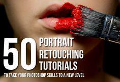 50 Portrait Retouching Tutorials To Take Your Photoshop Skills To A New Level. Photo by Mario Mayer via Photodoto
