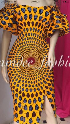 Ankara Styles For Women, Ankara Dress Styles, Kente Styles, African Attire, African Wear, African Women, African Print Clothing, African Print Dresses, African Fashion Ankara
