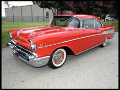 Prime Capital Auto Lease has this 1957 Chevrolet Bel Air Hardtop for sale by Mecum Auction will be featured on the Velocity channel on Friday Sept 6 at 7pm CST