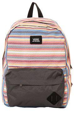 4aac27f7e5b6 Vans Backpack Old Skool II Assorted Red