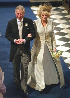 Charles and Camilla's wedding in 2005