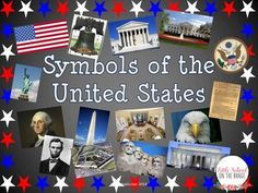 This is the perfect bundle for introducing the symbols of the United States to your students! This contains information on the following USA symbols:  •United States Flag •Bald Eagle •Washington Monument •Lincoln Memorial •White House •Great Seal of the United States •Statue of Liberty •George Washington •Abraham Lincoln •Supreme Court Building •Mt. Social Studies Lesson Plans, Teaching Social Studies, Teaching History, Virginia Studies, Usa Tattoo, Interactive Presentation, American Symbols, American History, Teaching Materials