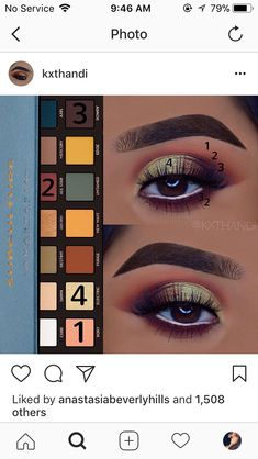 Anastasia hills subculture palette look #eyemakeup