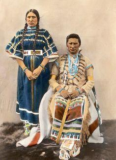 インディアン(ネイティブ・アメリカン)の貴重なカラー化写真 (11)