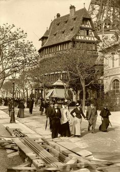 Paris World's Fair in 1900.