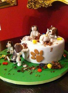 Beagle taart