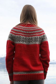 a6b5190d Ravelry: 0611-20 Sweater with Round Yoke pattern by Sandnes Design Fair  Isle Knitting