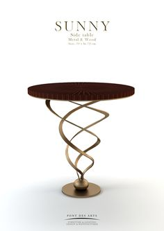 Side table - Sunny - pontdesarts