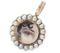 Find one-of-a-kind vintage jewelry for sale with The Three Graces. We pride ourselves on finding unique, genuine antique estate jewelry that will amaze. Victorian Jewelry, Antique Jewelry, Vintage Jewelry, Eye Jewelry, Jewelery, Lovers Eyes, Mourning Jewelry, Eye Art, Pearl Pendant