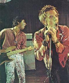 The Sex Pistols.
