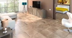 Flooring Porcelain Capella Sand Room Scene