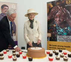 Noblesse et Royautés:  Princess Alexandra of Kent, Honorary President of Sighsavers, inaugurated a new branch at Haywards Heath, May 2015