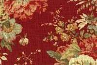 Waverly BALLAD BOUQUET VINTAGE RED670564 for kitchen curtains and seat cushion