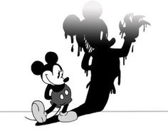 Creepy Disney Pics That Will Make Your Skin Crawl Creepy Disney, Disney Horror, Evil Disney, Dark Disney, Disney Gifs, Disney Art, Disney Videos, Cartoon Kunst, Cartoon Art