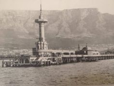 A photo I took of an old photograph of Cape Town circa Unsure of original photographer. Old Pictures, Old Photos, Cities In Africa, City By The Sea, Most Beautiful Cities, Antique Maps, African History, Cape Town, South Africa