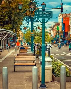 iconic Malioboro Street in Yogyakarta, Photo by: IG Desktop Background Pictures, Blur Photo Background, Background Images For Editing, Light Background Images, Picsart Background, New Backgrounds, Background For Photography, Grunge Photography, Cute Photography