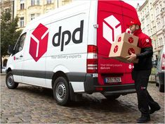new dpd van livery - Google Search
