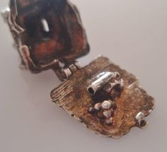 Large Sterling Castle Charm opens to Canon - 27gbp