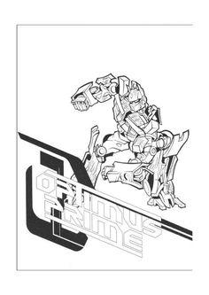 Transformers Tegninger Til Farvelægning. Printbare Farvelægning For Børn.  Tegninger Til Udskriv Og Farve Nº 11