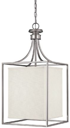0 00826914w Midtown 2 Light Foyer Matte Nickel