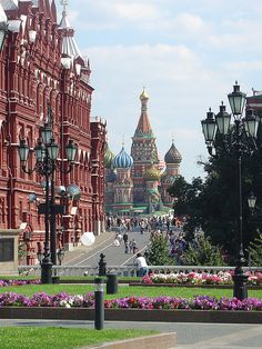 Moscow, Russia: Red Square, very interesting place, so different than America in absolutely every way!