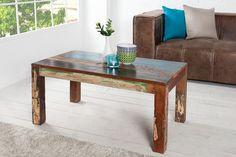 MANILA litet matbord i robust återvunnet indonesiskt trä
