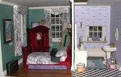 tasha tudor dollhouse   Tasha Tudor and Nantucket Bed and Breakfast Dollhouse
