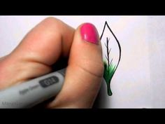 ▶ Copic Feather Blending Tutorial - YouTube
