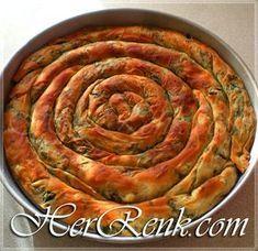 El Açması Ispanaklı Börek-elde açma börek tarifi,kolay,basit,resimli,anlatımlı,mayalı,tel tel,yumuşak börek tarifleri,Ev yapımı,çıtır çıtır börek,dolama börek,gül börek,mayalı börek hamuru tarifi, Pastry Recipes, Cooking Recipes, Turkish Recipes, Ethnic Recipes, Greek Cooking, Ramadan Recipes, Snacks Für Party, Middle Eastern Recipes, Easy Cake Recipes