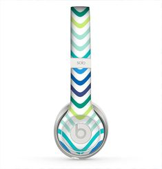 The Vibrant Fun Colored Pattern Swirls Skin for the Beats by Dre Solo 2 Headphones from Design Skinz, INC.