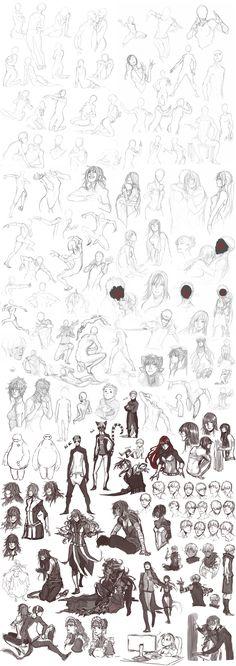 Sketch Dump 27 by Namonn on DeviantArt