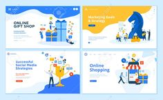 Set of flat design web page templates of social networking, business solutions, seo, project gallery , #AFF, #web, #page, #templates, #Set, #flat Page Design, Web Design, Flat Design, Luxury Brochure, Brochure Cover Design, Marketing Goals, Business Marketing, Page Template, Business Presentation