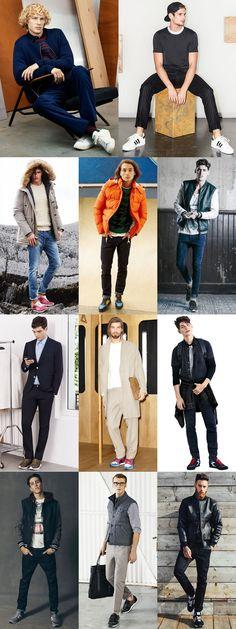 Men's 2014 Autumn/Winter Sporty Street Style : The Fashion Trainer Lookbook Inspiration